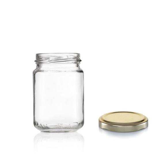 """צנצנת זכוכית 156 מ""""ל"""