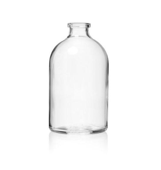 """בקבוק זכוכית 100 מ""""ל"""