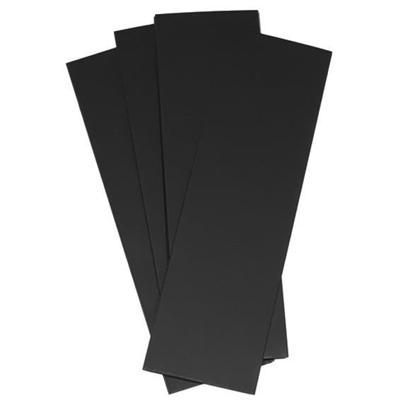 מארז 25 רצועות קארדסטוק - שחור
