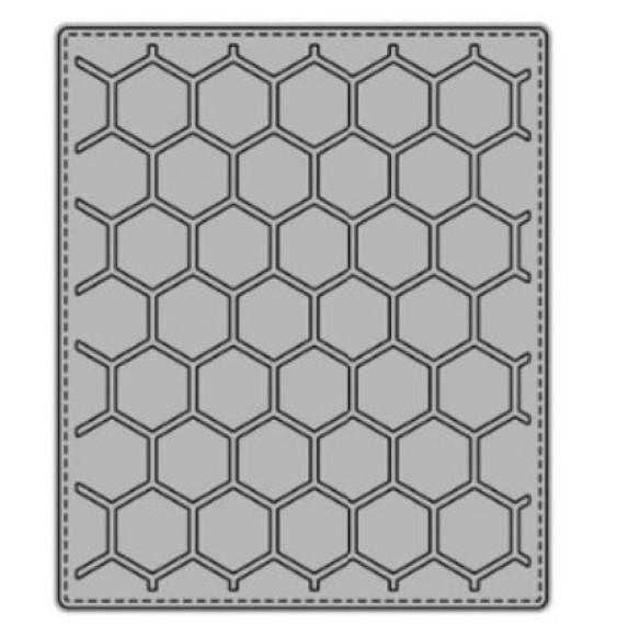 תבנית חיתוך- Hexagons