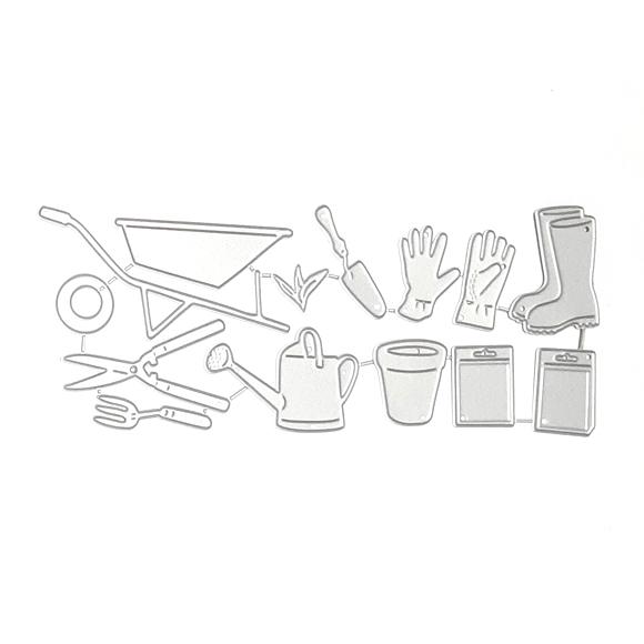 סט תבניות חיתןך - My garden tools