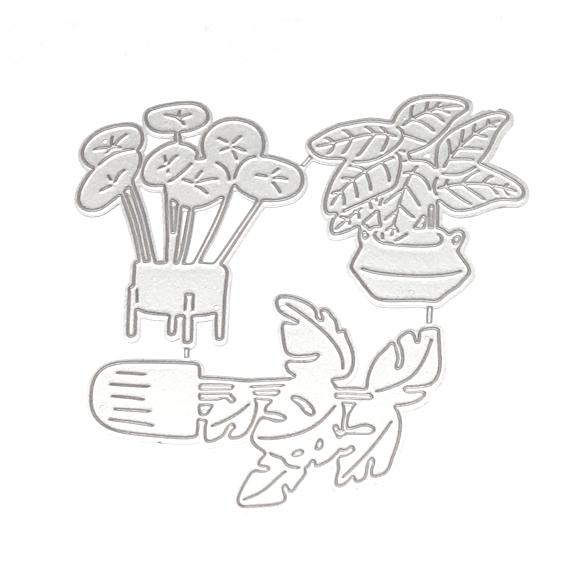 סט תבניות חיתןך - Houseplants