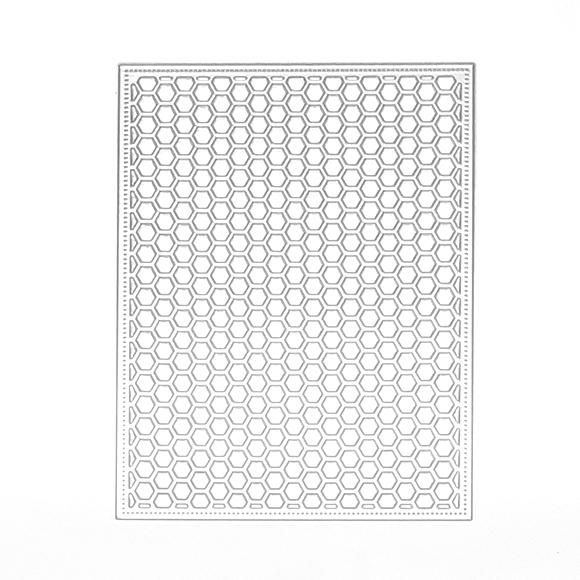 תבנית חיתוך- חלת דבש