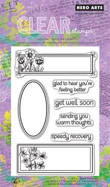 חותמות סיליקון - Speedy Recovery - Clear Stamp