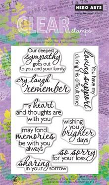 חותמות סיליקון - Remember - Clear Stamp