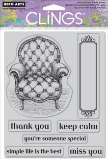 Keep Calm - Cling Stamp Set