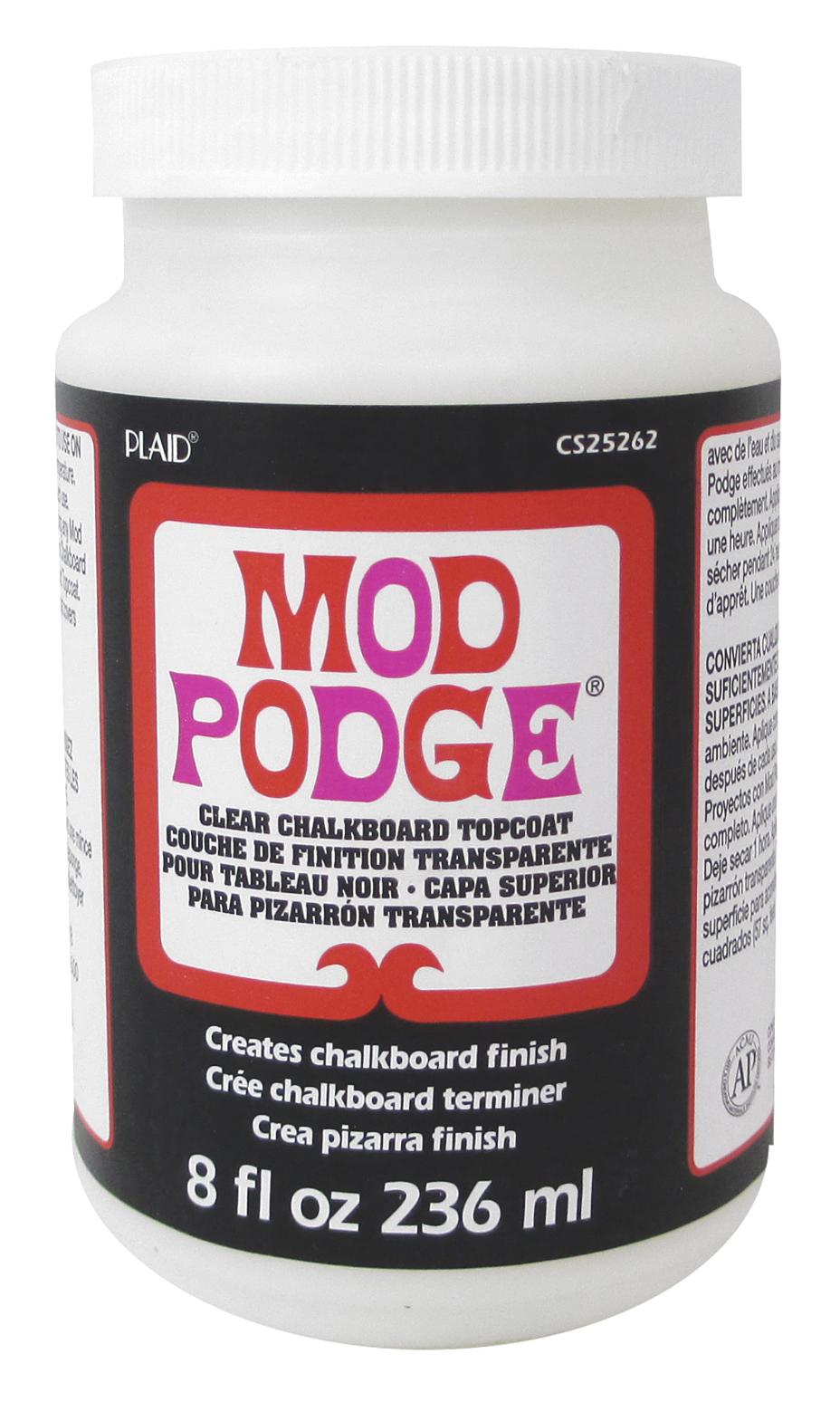 Mod Podge Chalkboard Topcoat - 8oz