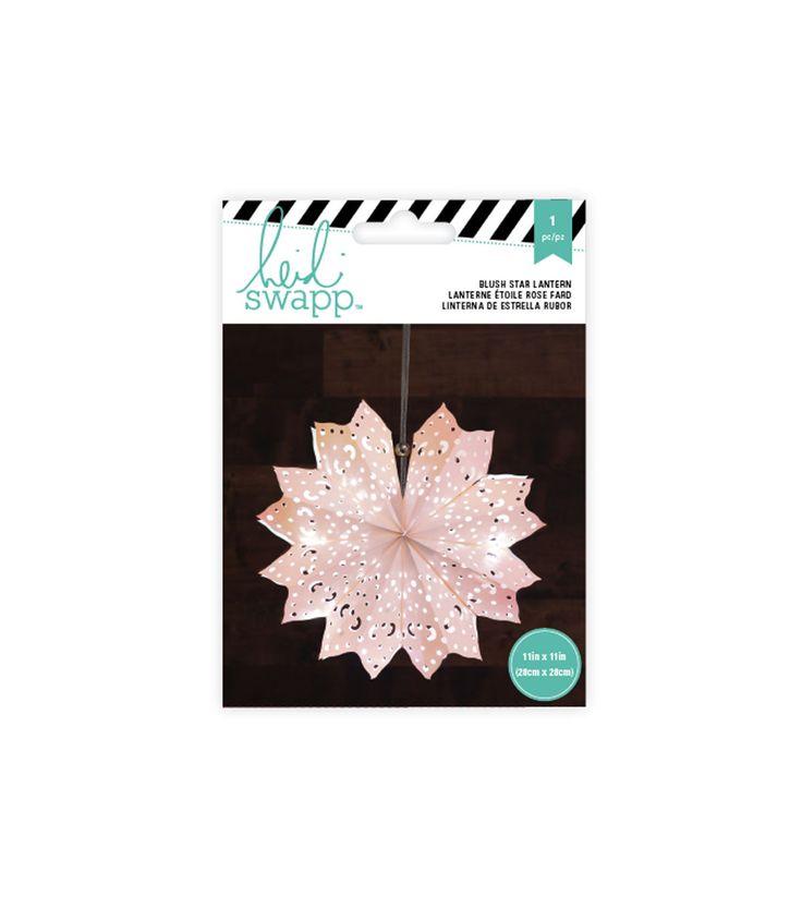 Paper Lanterns - Small - 8 Point - Blush
