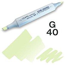 Copic Sketch Marker - G40 Dim Green