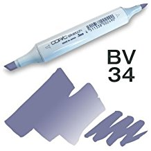 Copic Sketch Marker - BV34 Bluebell