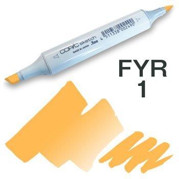 Copic Sketch Marker - FYR1 Fluorescent Orange