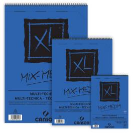 בלוק נייר מיקס מדיה A4 XL