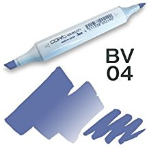 Copic Sketch Marker - BV04 Blue Berry