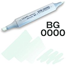 Copic Sketch Marker - BG0000 Snow Green