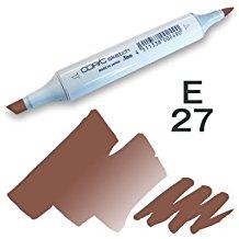 Copic Sketch Marker - E27 Milk Chocolate
