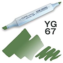 Copic Sketch Marker - YG67 Moss