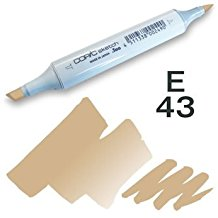 Copic Sketch Marker - E43 Dull Ivory