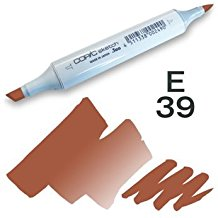 Copic Sketch Marker - E39 Leather