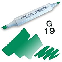 Copic Sketch Marker - G19 Bright Parrot Green