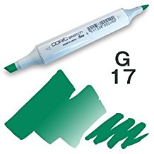 Copic Sketch Marker - G17 Forest Green