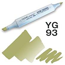 Copic Sketch Marker - YG93 Grayish Yellow