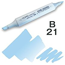 Copic Sketch Marker - B21 Baby Blue