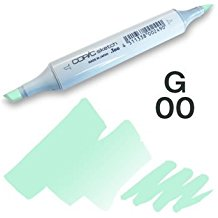 Copic Sketch Marker - G00 Jade Green
