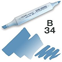 Copic Sketch Marker - B34 Manganese Blue