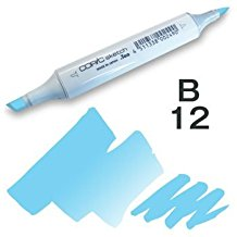 Copic Sketch Marker - B12 Ice Blue