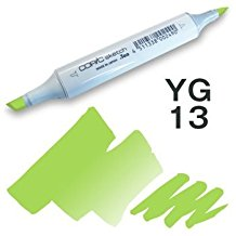 Copic Sketch Marker - YG13 Chartreuse
