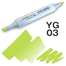 Copic Sketch Marker - YG03 Yellow Green
