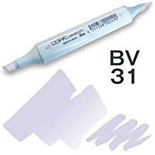 Copic Sketch Marker - BV31 Pale Lavender