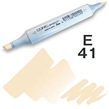 Copic Sketch Marker - E41 Pearl White