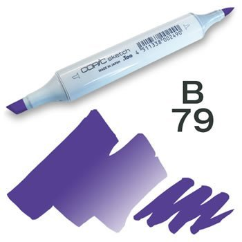 Copic Sketch Marker - B79 Iris
