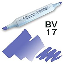 Copic Sketch Marker - BV17 Deep Reddish Blue