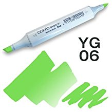 Copic Sketch Marker - YG06 Yellowish Green