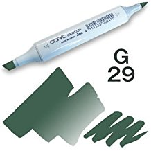 Copic Sketch Marker - G29 Pine Tree Green
