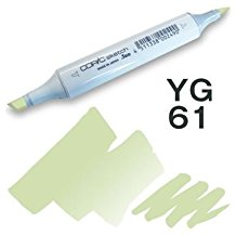 Copic Sketch Marker - YG61 Pale Moss
