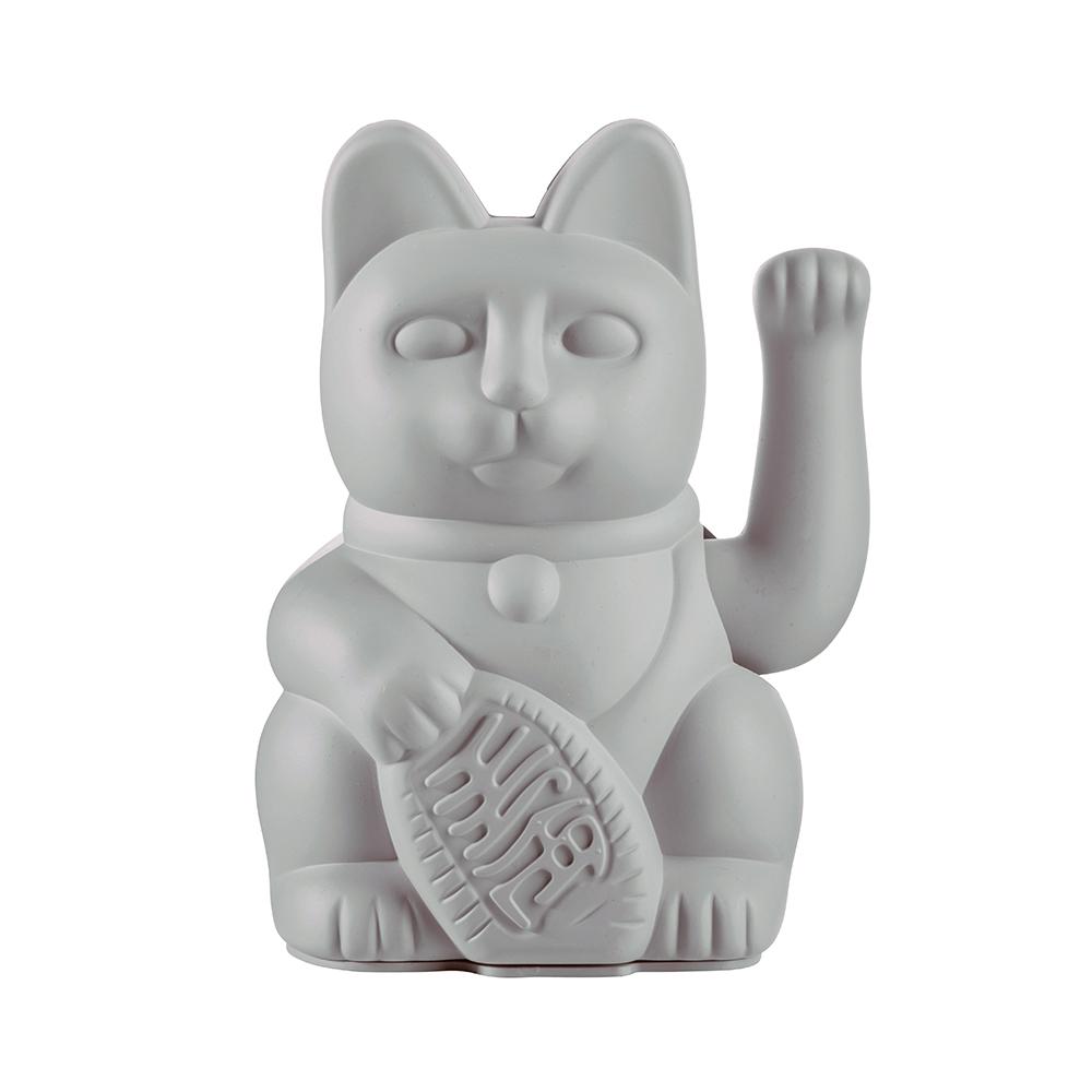 חתול מזל Lucky Cat - אפור