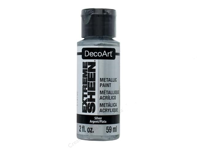 Extreme Sheen Acrylic Metallic Paint - Silver