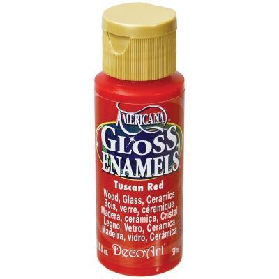 Americana Gloss Enamels - Tuscan Red