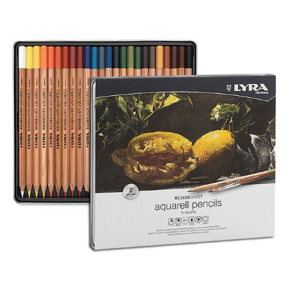 סט 24 עפרונות אקוורל - REMBRANDT Aquarell