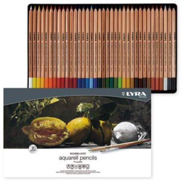 סט 36 עפרונות אקוורל - REMBRANDT Aquarell