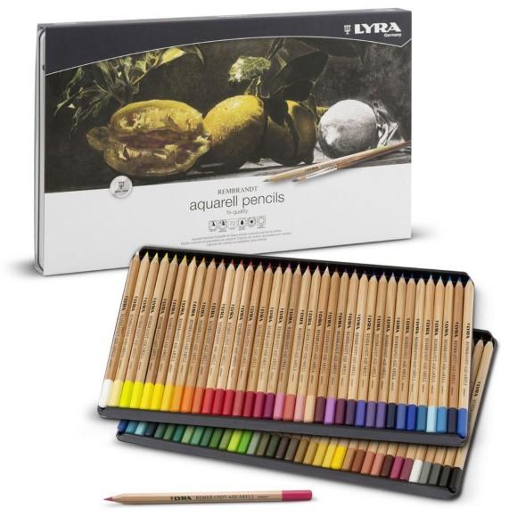 סט 72 עפרונות אקוורל - REMBRANDT Aquarell