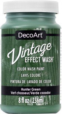 Vintage Effect Wash - Hunter Green
