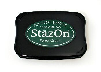 דיו יבש - Stazon - Forest Green