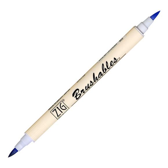 טוש Zig Brushable - 302 Powder Blue