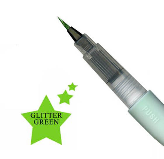 Wink Of Stella - Shimmer Brush Marker - Green