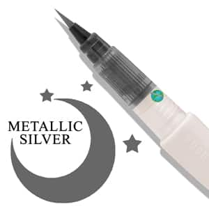 Wink of Luna Brush - Silver