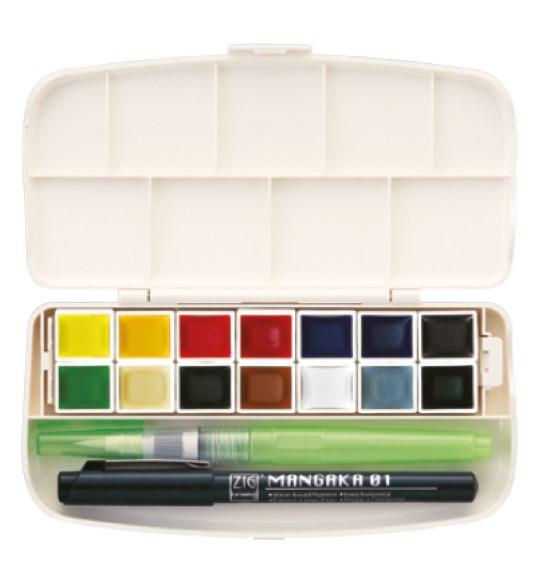 סט צבעי מים לנשיאה - Portable Set